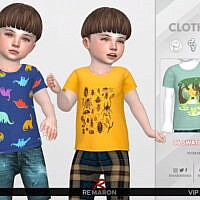 Carters T-shirt 01 By Remaron