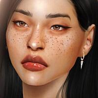 Remix: Eyebrows, Freckles, Eyelids & Eyes + Lipstick