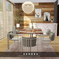 Xandra Dining By Melapples