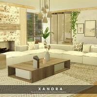 Xandra Living Room By Melapples