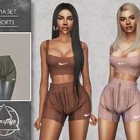 Livia Set (shorts) By Camuflaje