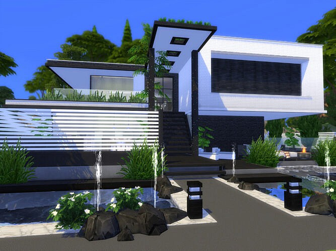 Modern Soria Home By Suzz86