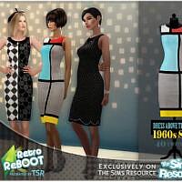 Retro 60s Dress By Bakalia