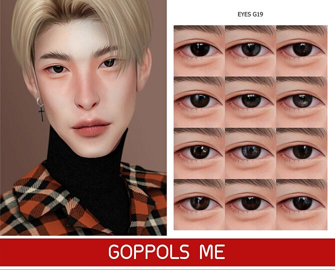 Sims 4 GPME GOLD Eyes G19 at GOPPOLS Me