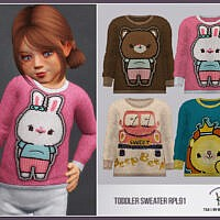 Toddler Sweater Rpl91 By Robertaplobo