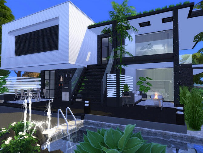 Sims 4 Modern Soria Home by Suzz86 at TSR