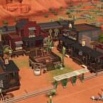 Full Western Town With Functional Train By Bradybrad7