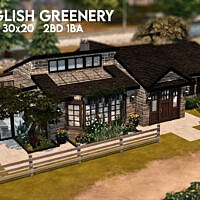 English Greenery Cottage By Xogerardine