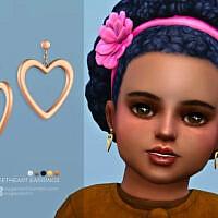 Sweetheart Earrings Toddlers Version By Sugar Owl