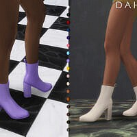 Dahlia Boots By Plumbobs N Fries