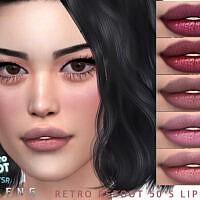 Retro 50's Lipstick By Seleng