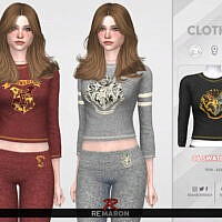 Harry Potter Pj Shirt 01 F By Remaron