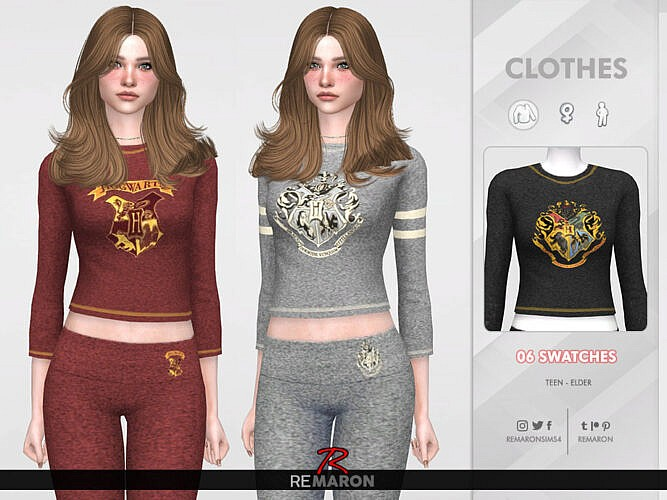 Harry Potter Pj Shirt 01 F By Remaron