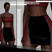 Rock Chic Vi Skirt Scarlett By Viy Sims