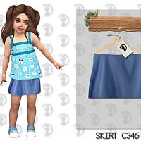 Skirt C346 By Turksimmer