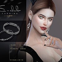Diamond Bracelet 2021012 By S-club Ll