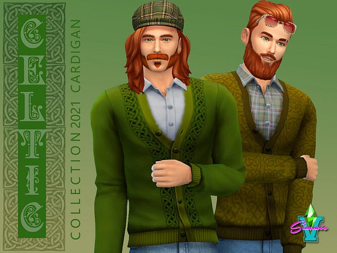 Celtic Cardigan By Simmiev