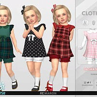 Retro 50s Dress For Toddler 01 By Remaron
