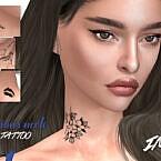 Imf Tattoo Neck Various By Izziemcfire