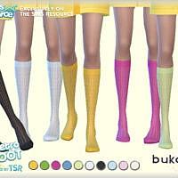 Retro Knee Socks Retro By Bukovka