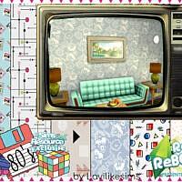 Retro Reboot 80s Wallpaper By Lavilikesims