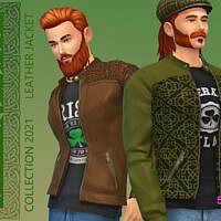 Celtic Leather Jacket By Simmiev