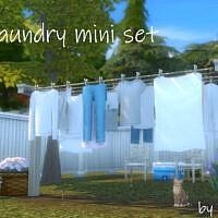 Laundry Mini Set By Pocci
