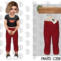 Pants C358 By Turksimmer