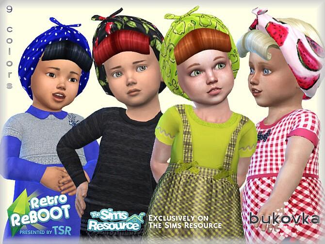 Sims 4 Retro Hat Pin Up by bukovka at TSR