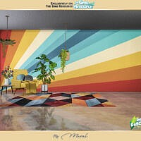 Retro Reboot 70s Mural By Caroll91