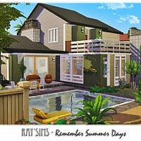 Retro Remember Summer Days By Ray_sims