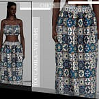 Chic V Skirt Camila By Viy Sims