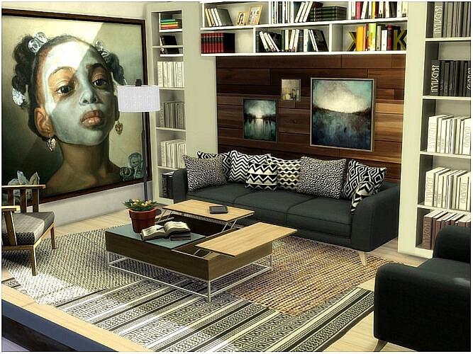 Warm Living Room By Lotsbymanal