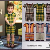 Retro Toddler Outfit Rpl93 By Robertaplobo