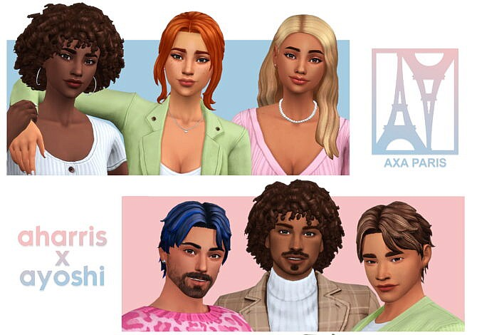 Axa Paris 50+ Cas Items