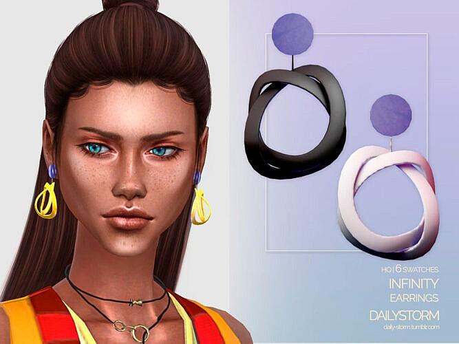 Infinity Earrings By Dailystorm