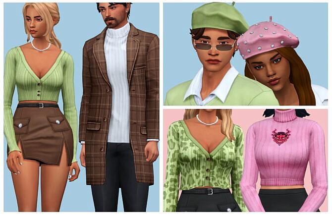 Sims 4 AxA Paris 50+ CAS Items at AHarris00Britney