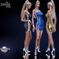 Zwilla Dress By Jomsims