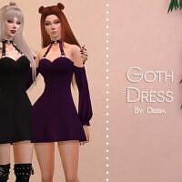 Goth Dress By Dissia