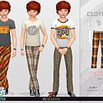 Retro 70s Pants For Child 01 By Remaron