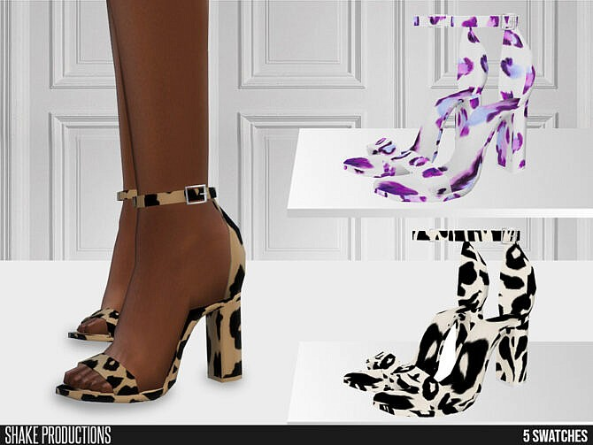 Sims 4 646 High Heels by ShakeProductions at TSR