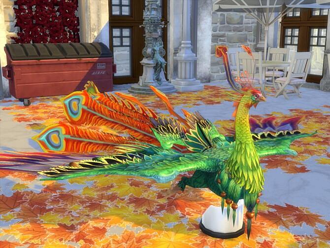 Sims 4 Fantastic Peacock at Anna Quinn Stories