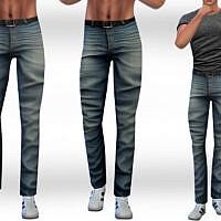 Straight Men Jeans By Saliwa