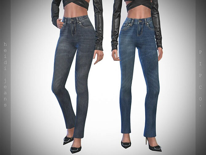 Sims 4 Heidi Jeans by Pipco at TSR