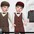 Retro 50s Vests For Toddler 01 By Remaron