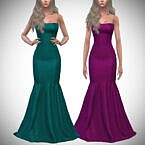 Lust Gown (strapless) By Pipco