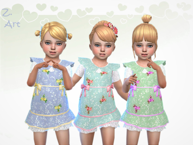 Sims 4 BabeZ 90 Outfit by Zuckerschnute20 at TSR