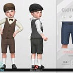 Retro 50s Shorts For Toddler 01 By Remaron