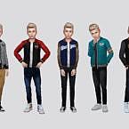 Joe Varsity Jacket Boys By Mclaynesims