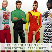 Celtic Track Suit By Simmiev